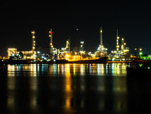 Oil refinery. Industry oil refinery Stock Image