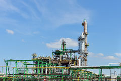 Oil refinery industry Stock Images