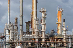 Oil Refinery Industry Plant stock image