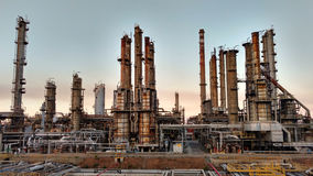 Oil refinery industry plant Stock Photography