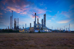 Oil refinery industry Stock Photography