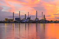 Oil refinery Stock Image