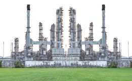 Free Oil Refinery Isolate On White Background Stock Photo - 88794860