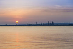 Oil refinery in Marseille Royalty Free Stock Photo