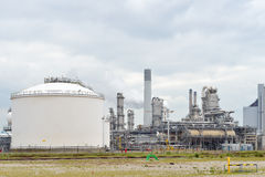 Oil refinery and oil terminal Stock Photography