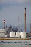 Oil refinery plant Royalty Free Stock Photos