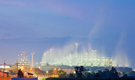 Oil Refinery Plant Royalty Free Stock Images