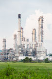 Oil Refinery Plant Stock Image