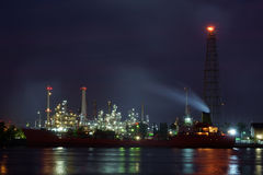 Oil refinery. Stock Photography