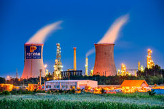 Petrobrazi Oil Refinery, Romania Stock Photo