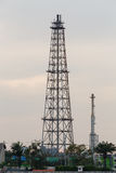 Oil Refinery tower Royalty Free Stock Images