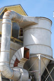 Oil Refinery Ventilation System royalty free stock photos