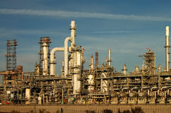 Oil Refining Facility Stock Photo