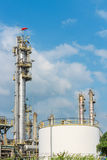 Oil refining industrail Royalty Free Stock Photography
