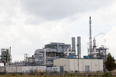 Oil refining plant Stock Photo