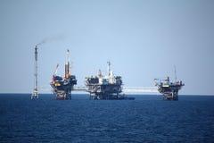 Oil rig Stock Photo