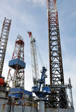 Oil Rig Royalty Free Stock Photos