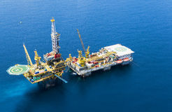 Oil Rig royalty free stock photography