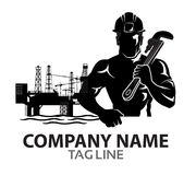 Oil Rig Company Logo Stock Photography