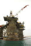 Oil Rig Repairs Royalty Free Stock Photos