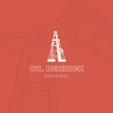 Oil rig icon. Royalty Free Stock Image