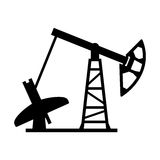 Oil rig stock illustration