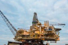 Oil rig platform Stock Photography