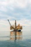 Oil rig platform Royalty Free Stock Image