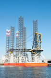 Oil Rig Platfrom Stock Images