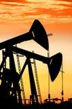 Oil rocking. Royalty Free Stock Photo
