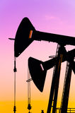 Oil rocking. Royalty Free Stock Photography