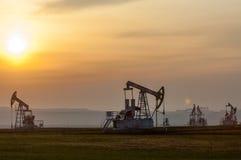 Oil rocking spring Stock Image
