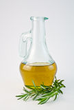 Oil with rosemary 1 Royalty Free Stock Photos