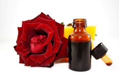 Oil of roses Stock Photos
