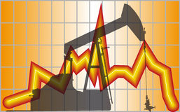 Oil saving Stock Image