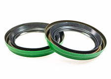 Oil seal Stock Image