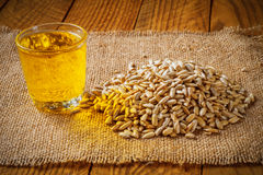 Oil and Seeds Royalty Free Stock Image