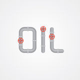 Oil sign Royalty Free Stock Images