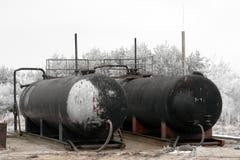Oil Silo royalty free stock image