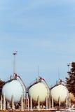 Oil silos Stock Image