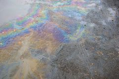 Oil Slick Stock Photos