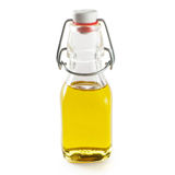 Oil in small bottle Royalty Free Stock Images
