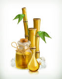 Oil spa icon Stock Image