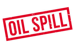 Oil Spill rubber stamp. Grunge design with dust scratches. Effects can be easily removed for a clean, crisp look. Color is easily changed Royalty Free Stock Photo