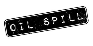 Oil Spill rubber stamp. Grunge design with dust scratches. Effects can be easily removed for a clean, crisp look. Color is easily changed Royalty Free Stock Photos