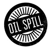 Oil Spill rubber stamp Stock Photos