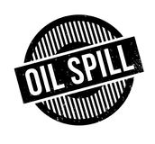 Oil Spill rubber stamp. Grunge design with dust scratches. Effects can be easily removed for a clean, crisp look. Color is easily changed Royalty Free Stock Image