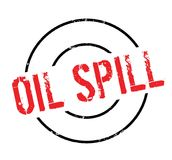 Oil Spill rubber stamp Royalty Free Stock Images