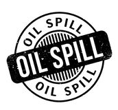 Oil Spill rubber stamp Royalty Free Stock Photography