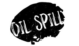 Oil Spill rubber stamp Stock Photography